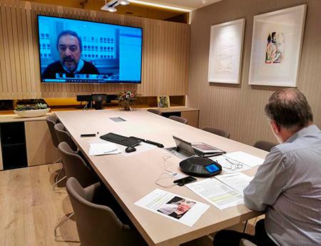 """Sexta videoconferencia del grupo de trabajo """"crisis COVID-19"""""""